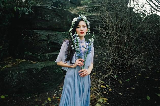 Jessica modeling 2019 art museum dark gothic