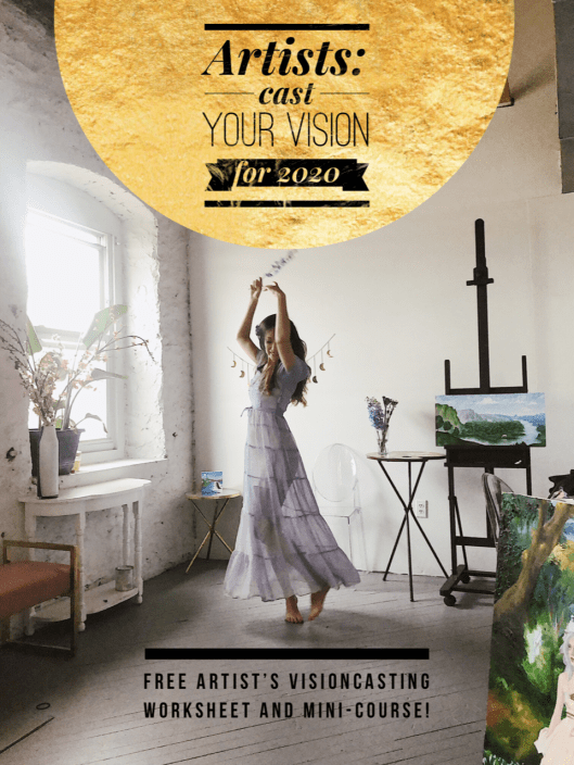 Free Visioncasting Mini-Course for Artists