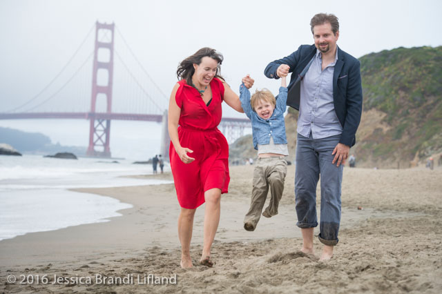 May 14, 2016 - San Francisco, California, PJ, Annaliese and Wolfgang (Jessica Brandi Lifland/)