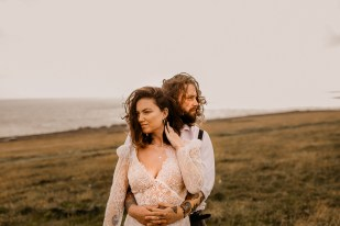 wedding portraits at Brighton seaside