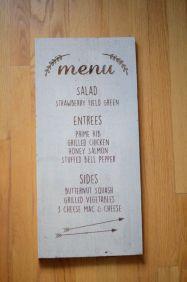 pretty menu 14