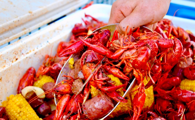 Crawfish Boil -Bootjack Bar