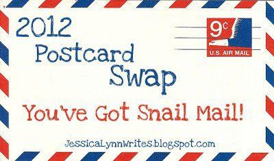 You've got {Snail} Mail: Postcard Swap 2012