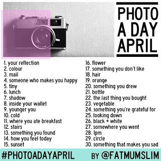 #PhotoADayApril part one