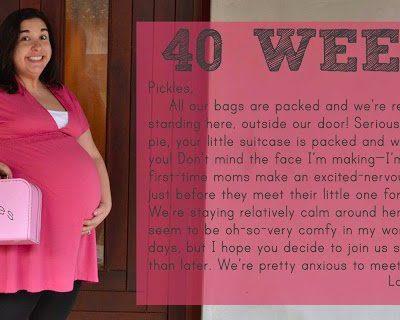 Bumpdate: 40 Weeks