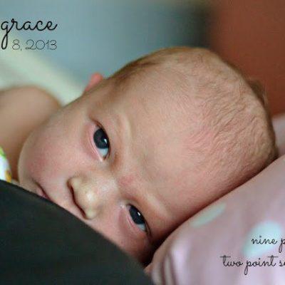 Introducing Julia Grace!