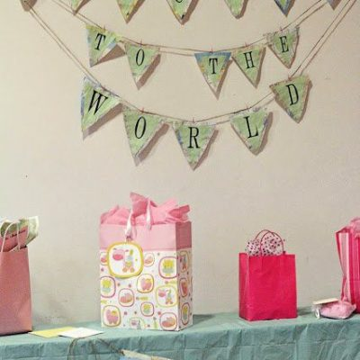 A Travel-Themed Baby Shower