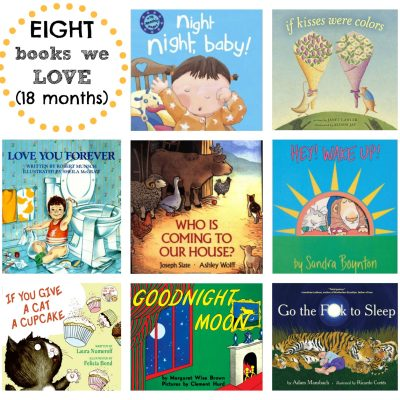 8 Books We're Loving Right Now {18 Months}