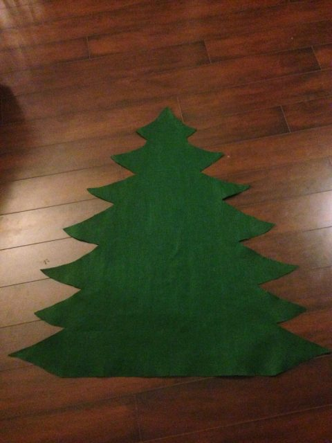 If your regular Christmas tree is a hands-off zone for your toddler, make them their very own DIY Felt Christmas Tree so they can play and go to town!
