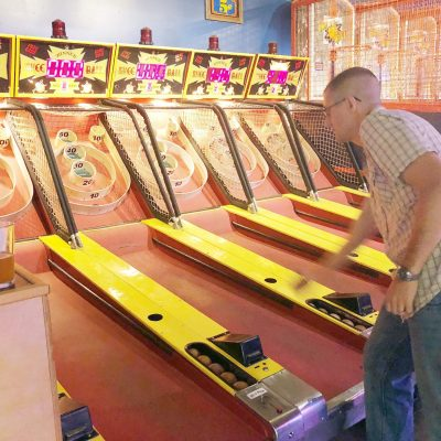 Coin-Op Game Room: Date Night in San Diego
