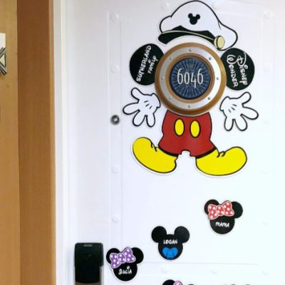Decorating With Disney Cruise Door Magnets