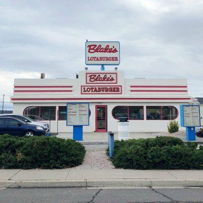 Blake's Lotaburger in New Mexico
