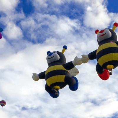 The Coolest Balloons at the Balloon Fiesta