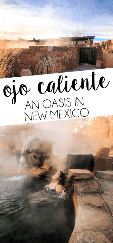 Visit Ojo Caliente in Northern New Mexico and expect to leave refreshed, rejuvinated, and totally relaxed. It's the perfect place to reset.