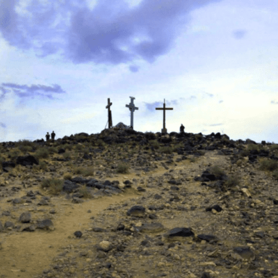 Good Friday and the Tomé Hill