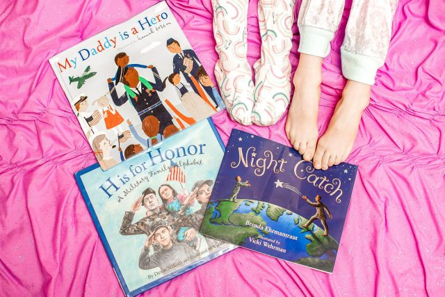 Deployments are H A R D, espeically for children. This mom of three shares helpful books for military kids who are going through a deployment.