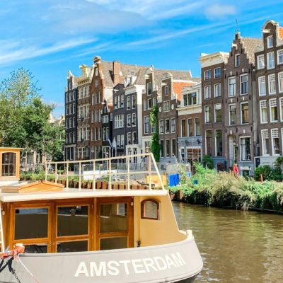 One Day in Amsterdam with a Family