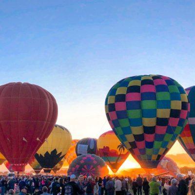 A Balloon Fiesta Scavenger Hunt