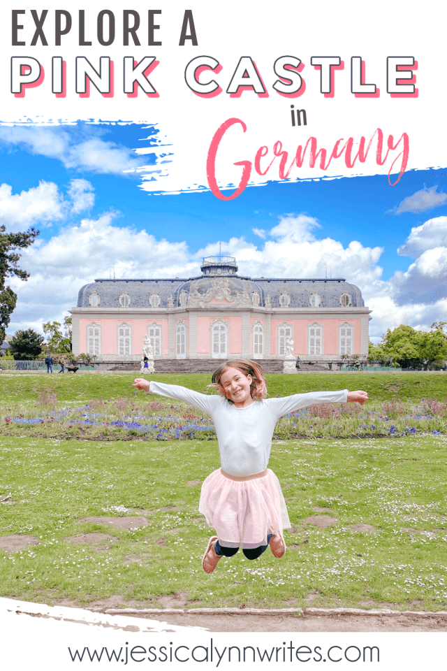 A pink castle in Germany? You bet! Schloss Benrath near Düsseldorf, Germany, is totally pink on the outside—the inside is just as gorgeous.