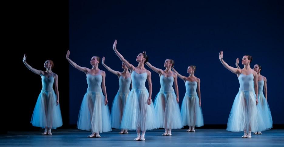 Artists of Houston Ballet, Serenade. May 2016. Photography by Amitava Sarkar
