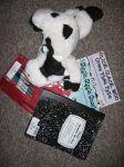 Mirabelle the Cow Homework Bag