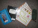 1:1 Correspondance Homework Bag