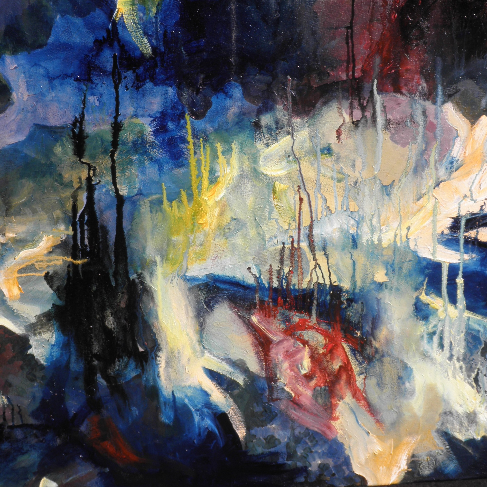 Abstract painting (art portfolio and blog)