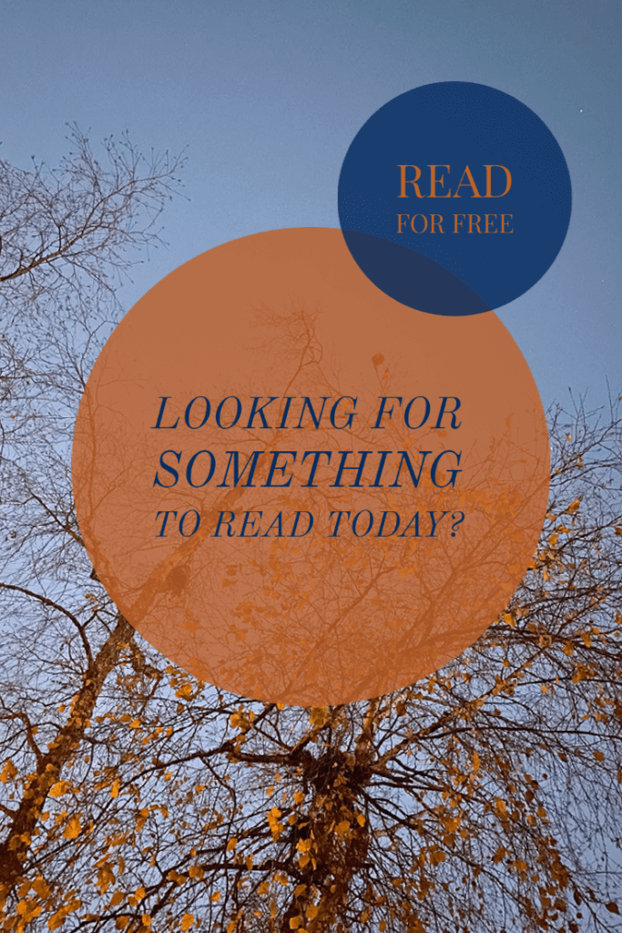 Looking for something to read today?
