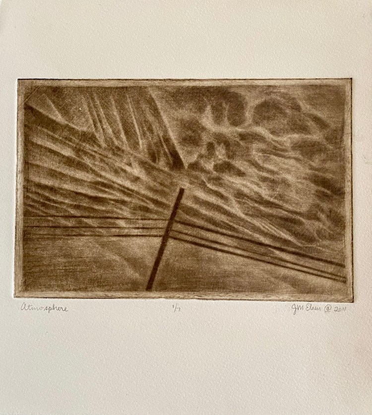"Limited Edition: ""Atmosphere"" - Mezzotint"
