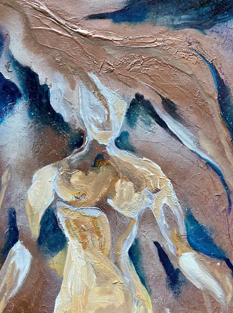 Identity - Mixed Media Painting