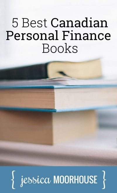 Adding these to my list! 5 of the best Canadian personal finance books.