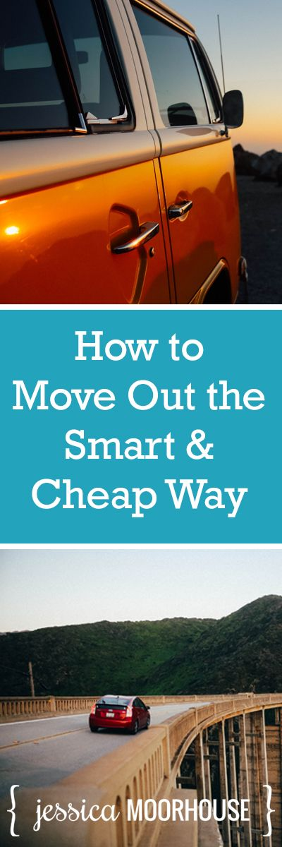 Moving out checklist! How to move out the smart and cheap way.