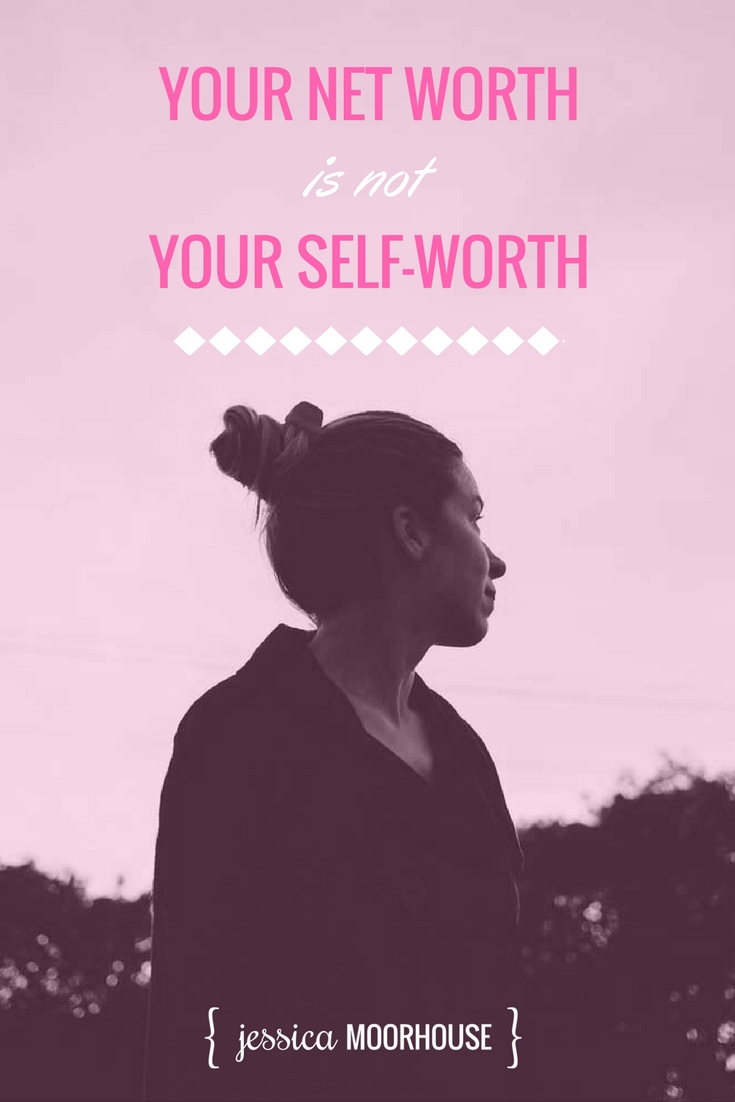 Do you subconsciously believe that your self-worth is tied to your net worth? It's very common, though it can be really unhealthy. You're more than how much you earn or save. You are awesome, it really doesn't matter how much money you have.