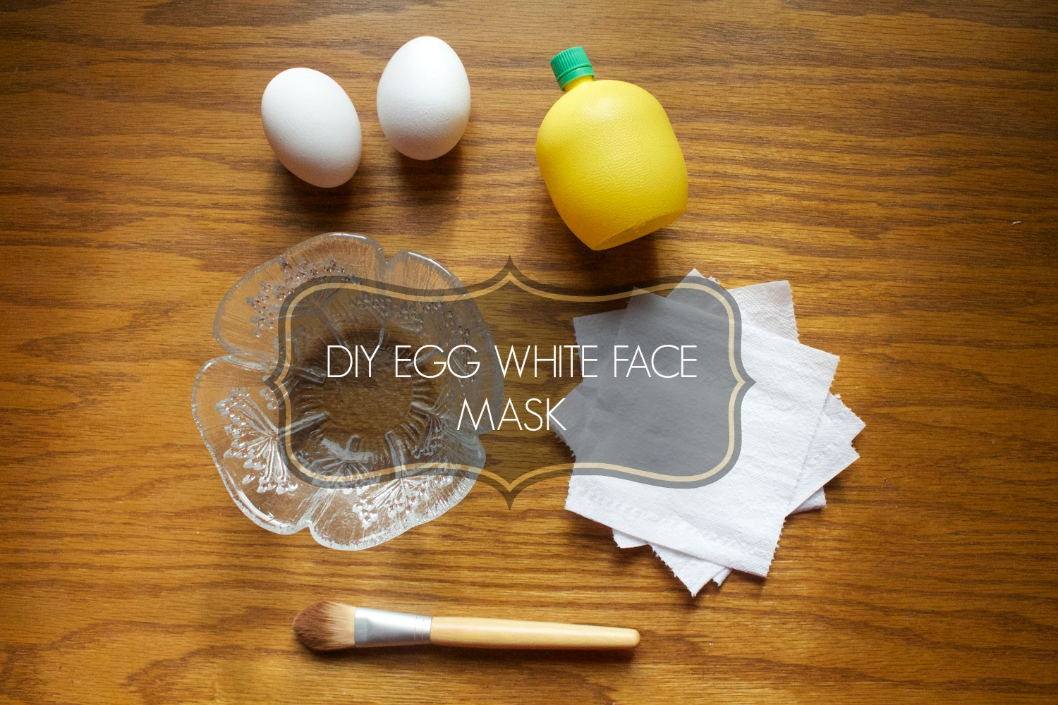 DIY EGG WHITE FACE MASK  Jessica Moy Blog
