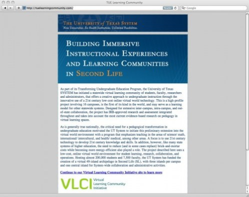 TUE Learning Community