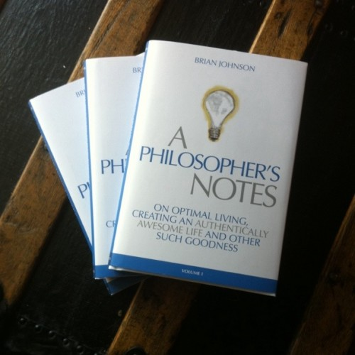 philosophers' notes