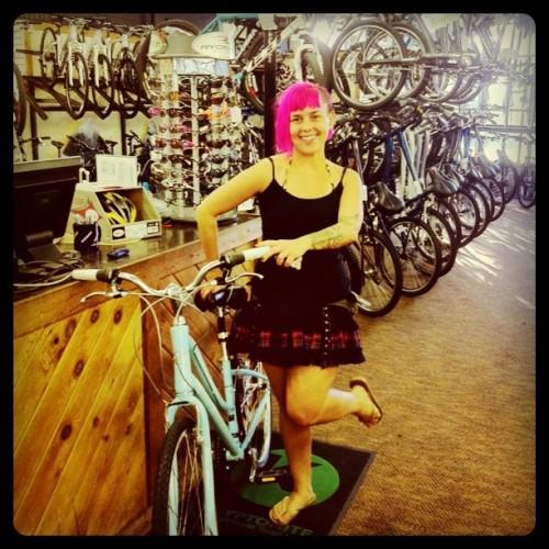 me bike!