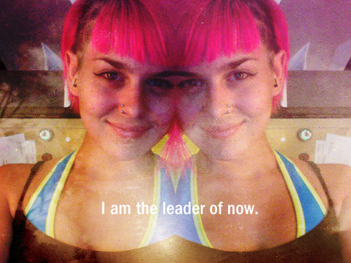 i am the leader of now