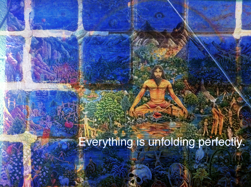 everything is unfolding perfectly