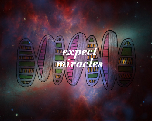 Expect Miracles (art by Kelly Cree & Jessica Mullen)