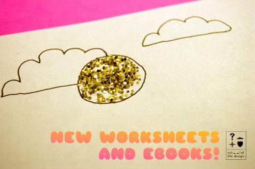 New worksheets and ebooks!