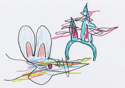 Glitch Bunny by Kelly Cree