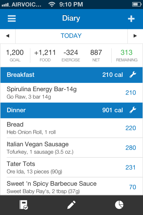 My Fitness Pal