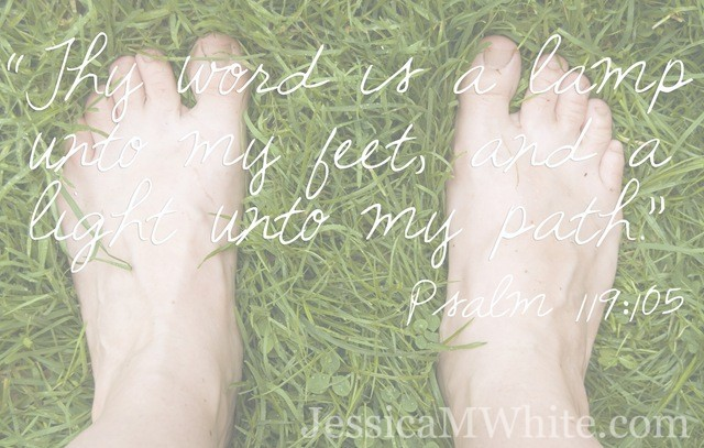 These Feet of Mine - 30 Years of Life at JessicaMWhite.com