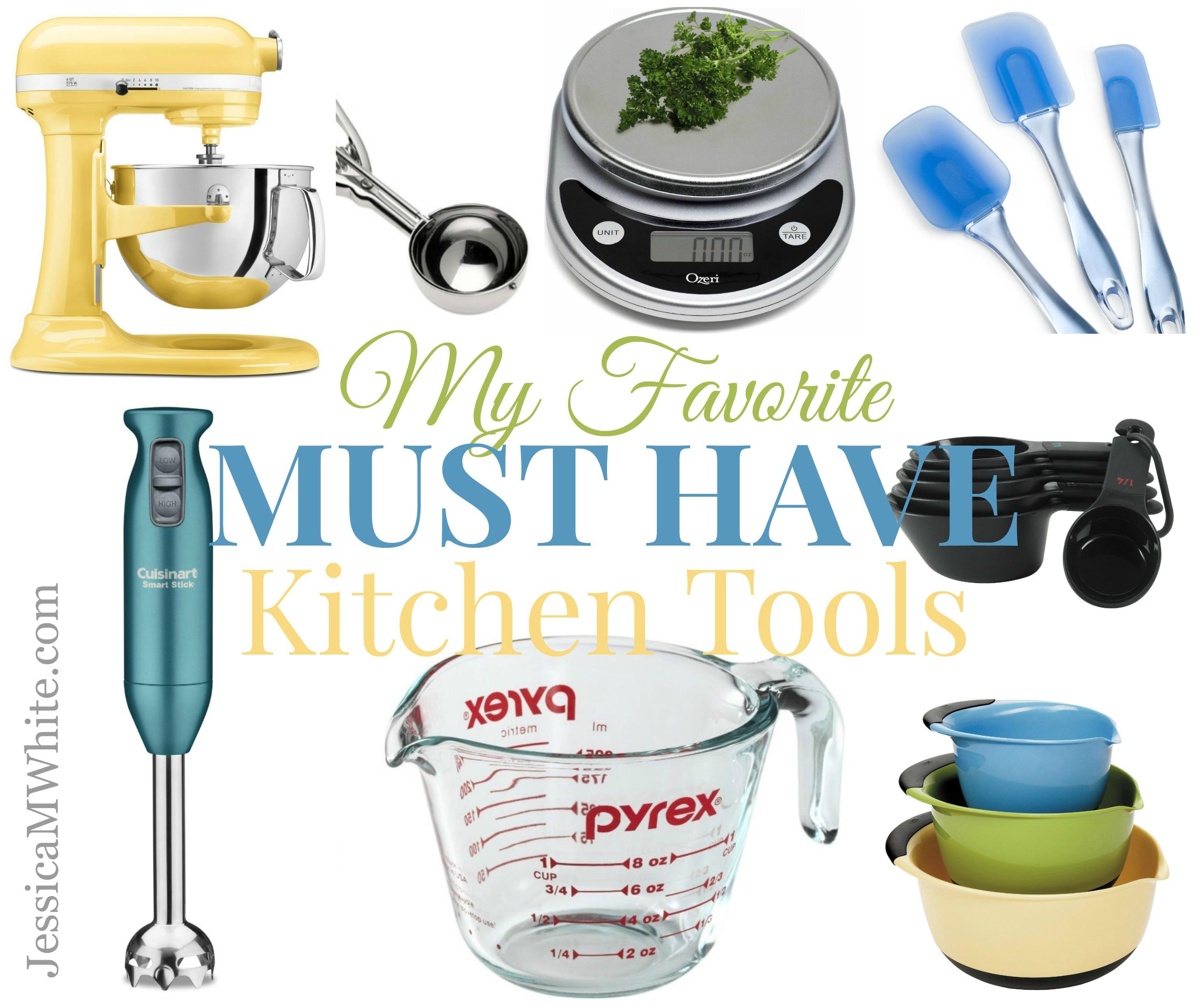 My Favorite Kitchen Must-Haves - JessicaMWhite.com