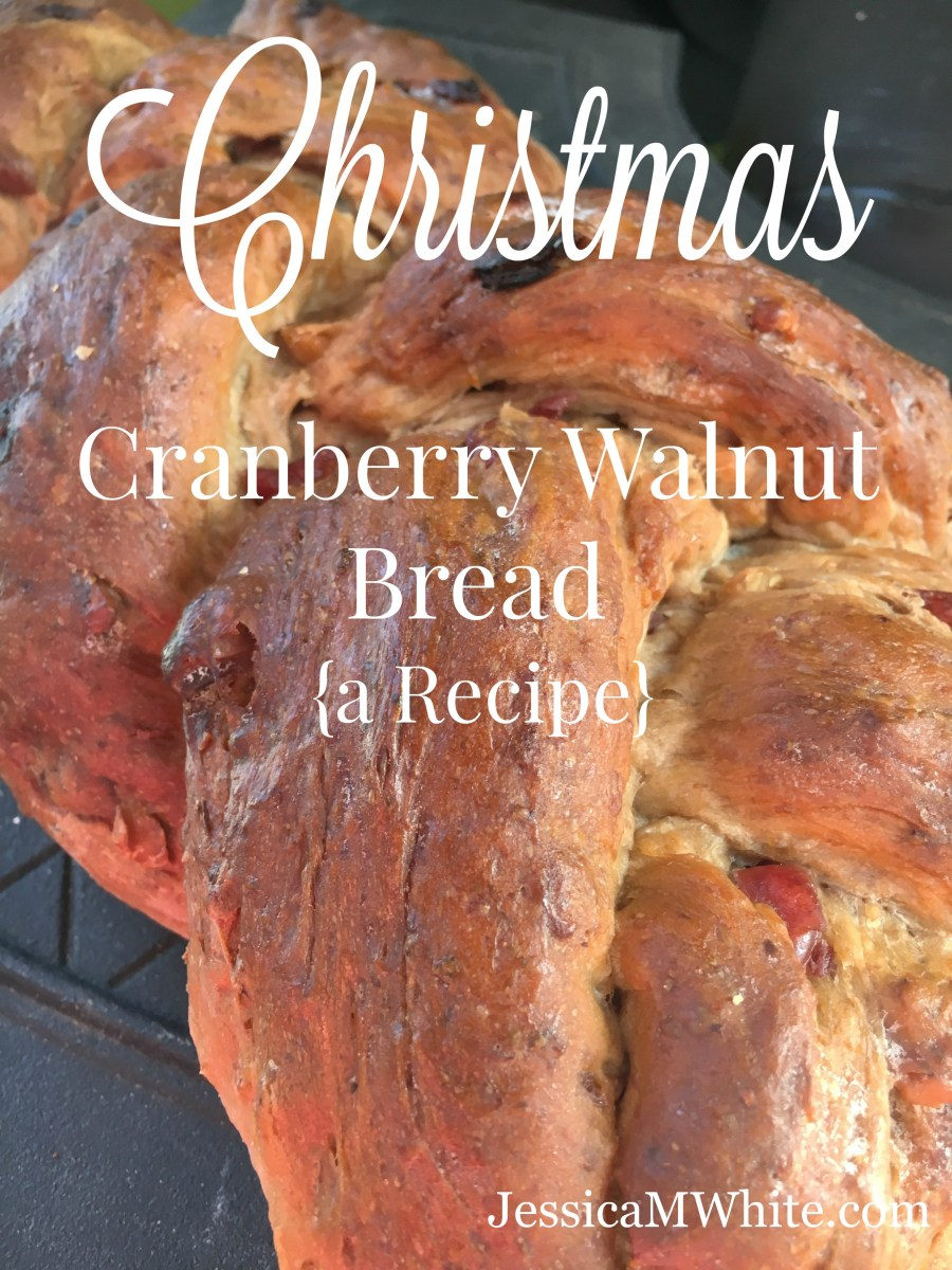 Cranberry Walnut Bread {a Recipe}