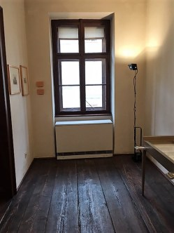 The room where Schubert died.