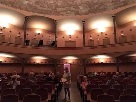 The pretty local theatre in Vilassar