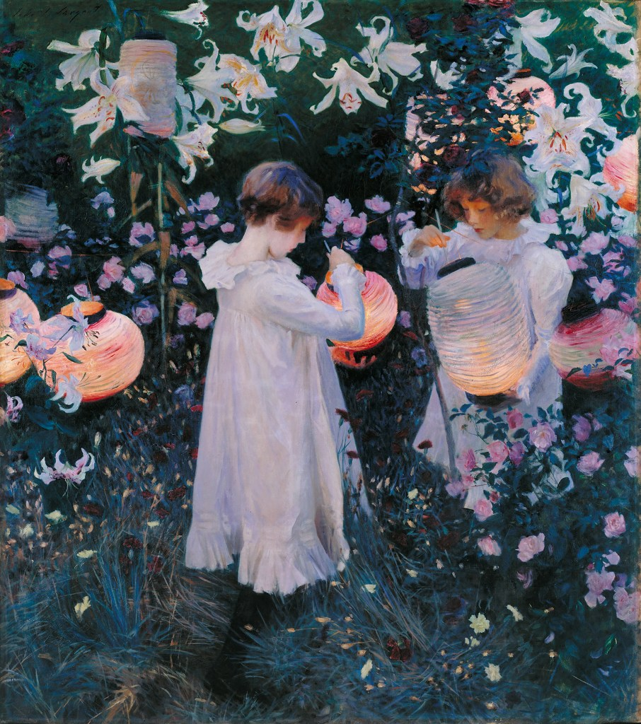 Carnation, Lily, Lily, Rose oil painting by John Singer Sargent