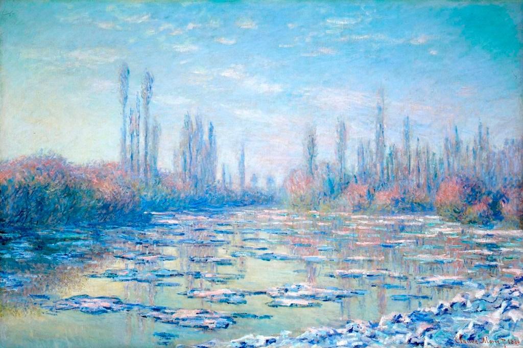 The Ice Floes oil painting by Claude Monet